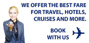 We offer the best fare for travel, hotels, cruises, and more. - Book with us